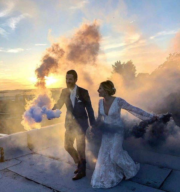 Aly Cucitrone wedding